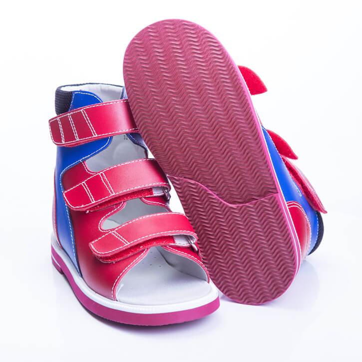 Ортопедическая обувь для детей с поддержкой стопы при плоскостопии