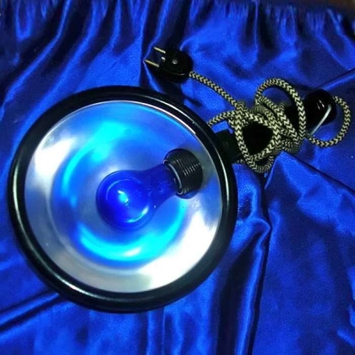 Применение синей лампы: советы по использованию