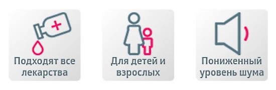 Небулайзер без применения ограничения лекарственных средств PRO-110