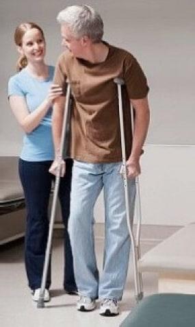 Костыли для реабилитации после операции